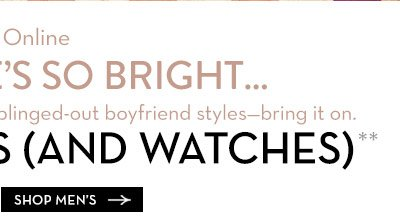 30% OFF Shades and Watches