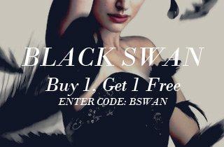 Black Swan BOGO. All Black Buy 1, Get 1.