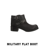 Military flat boot
