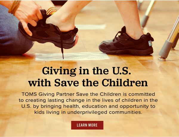 Giving in the U.S. with Save the Children - Learn More