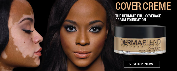 Dermablend cover creme foundation professional makeup for Dermablend tattoo cover up video
