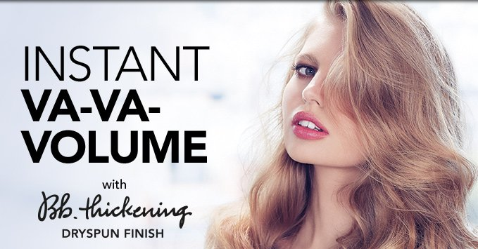 INSTANT VA-VA-VOLUME  with Bb.Thickening Dryspun Finish