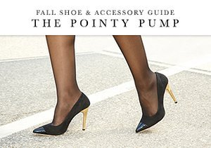 Fall Shoe & Accessory Guide: The Pointy Pump