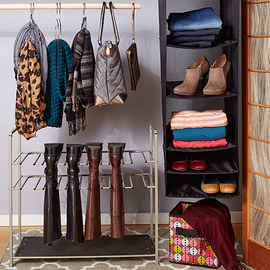 Closet Organizing: Fall Accessories