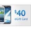 Get a $40 eGift Card