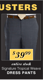 $39.99 USD - Signature Tropical Weave Dress Pants