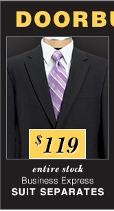 $119 USD - Business Express Suit Separates