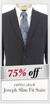 Joseph Slim Fit Suits - 75% Off*