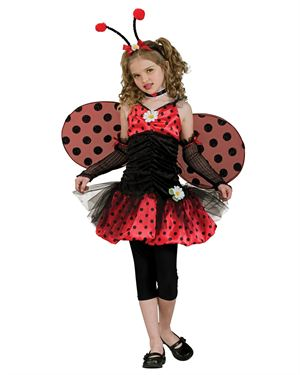 Halloween Resource Center Girl's Ladybug Costume