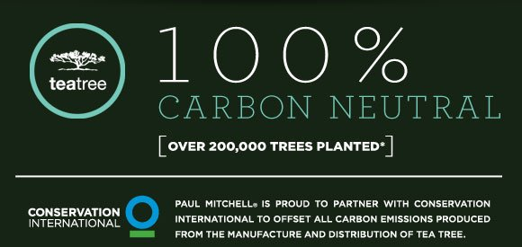 100% Carbon Neutral. Over 200,000 Trees Planted*