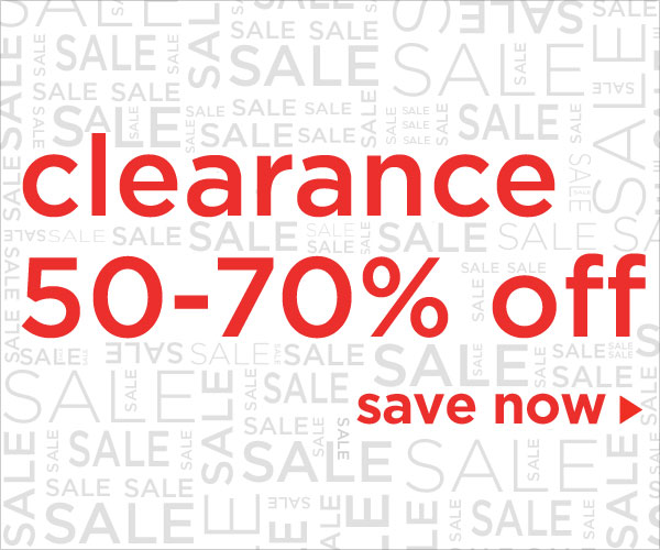 Clearance 50-70% off