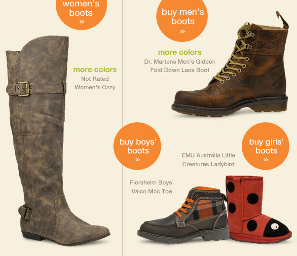 5 Hours - 30% Off Boots!