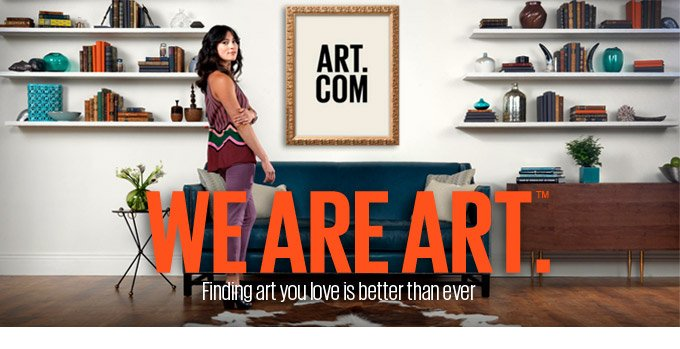 WE ARE ART (TM).  Finding art you love is better than ever