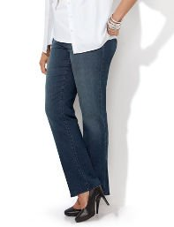 Slimmer Synergy Modern Bootcut Jean