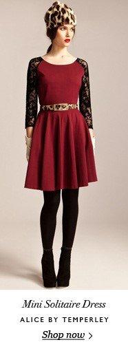 Mini Solitaire Dress