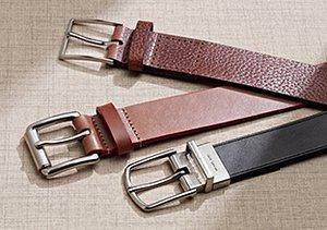 Buckle Up: Leather Belts