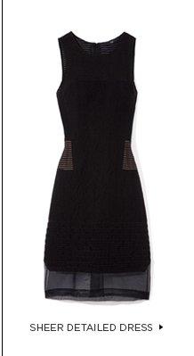 Sheer Detailed Dress
