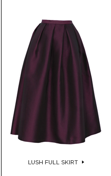 Lush Full Skirt