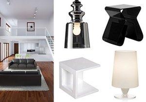 Glossy Contemporary Furnishings