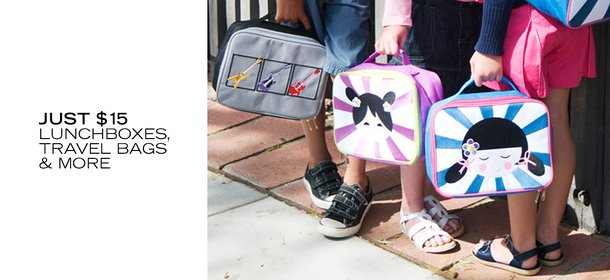 JUST $15: LUNCHBOXES, TRAVEL BAGS & MORE, Event Ends September 25, 9:00 AM PT >
