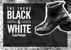 Shop Black & White Takeover: Footwear