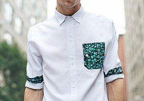 Shop Under $40: Shirts ft Pops of Pattern