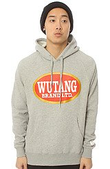 Wu Hands Pullover Hoody in Red