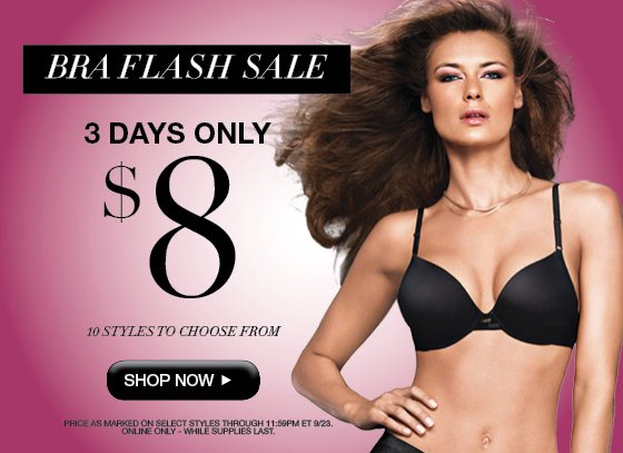 Bra Flash Sale 3 Days Only $8 10 styles to choose from