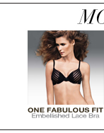 More to Love: One Fabulous Fit Embelishment Lace Bra