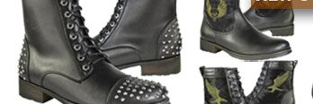 Save on Leather Motorcycle Boots