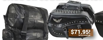 Save on Motorcycle Luggage