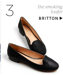 The smoking loafer. Shop Britton