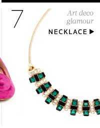 Art deco glamour. Shop Necklace