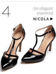 An elegant essential. Shop Nicola