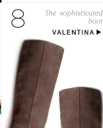 The sophisticated boot. Shop Valentina