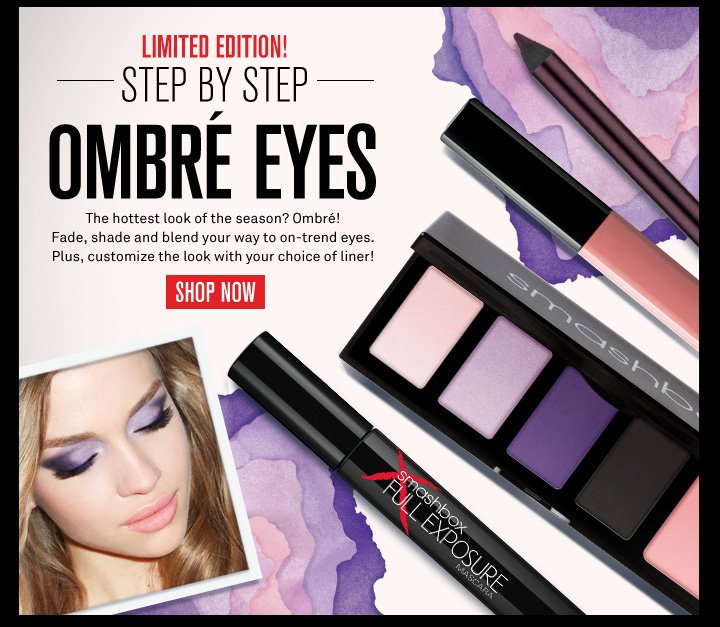 Limited Edition! Step By Step Ombre Eyes