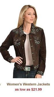Al Womens Western Jackets on Sale