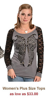 All Womens Plus Size Tops on Sale