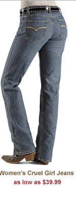 Womens Cruel Girl Jeans