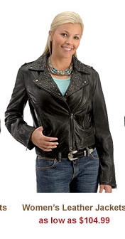 All Womens Leather Jackets on Sale