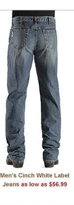 Mens Cinch White Label Jeans
