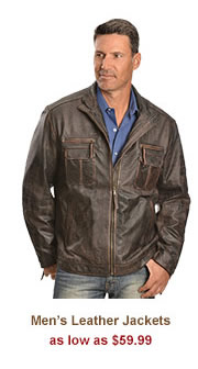 All Mens Leather Jackets on Sale