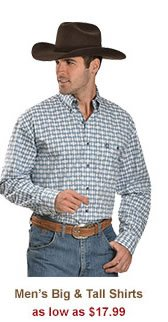 All Mens Big and Tall Shirts on Sale