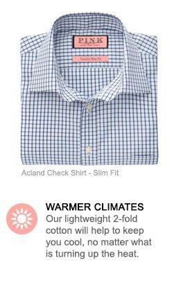 Acland Check Shirt