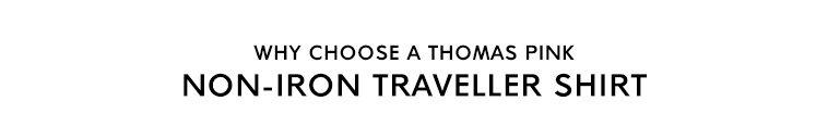NON-IRON TRAVELLER SHIRT