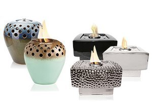 Water & Fire: Flame Pot Fountains