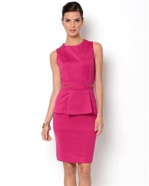 Shelby & Palmer Peplum Dress