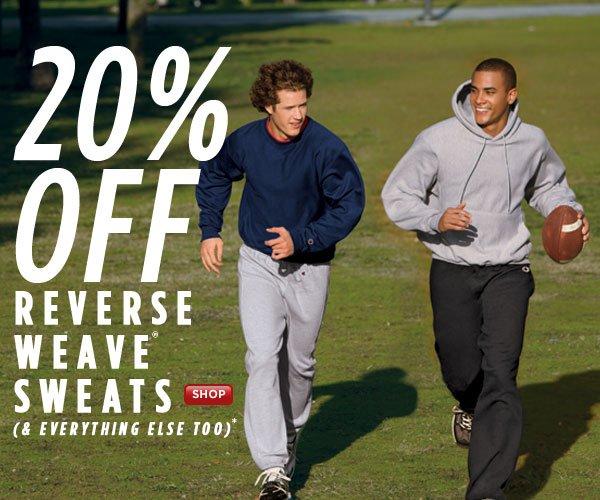 SHOP Reverse Weave Sweats