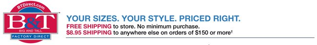 &T Direct: Your Sizes. Your Style. Priced Right