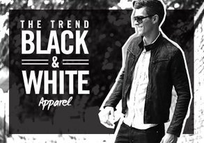 Shop Black & White Takeover: Apparel